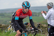 Joey Walker of Madison Genesis during stage four of the Tour de Yorkshire from Halifax to Leeds, , United Kingdom on 4 May 2019.