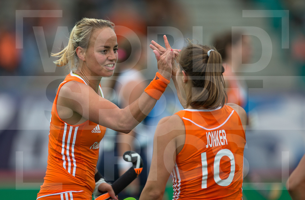 Hockey Womens World league Semi Finals Rotterdam 2013<br /> Netherlands v Chile 16062013<br /> <br /> <br /> Photo: Grant Treeby / treebyimages