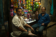 Street vendors in Delhi, India