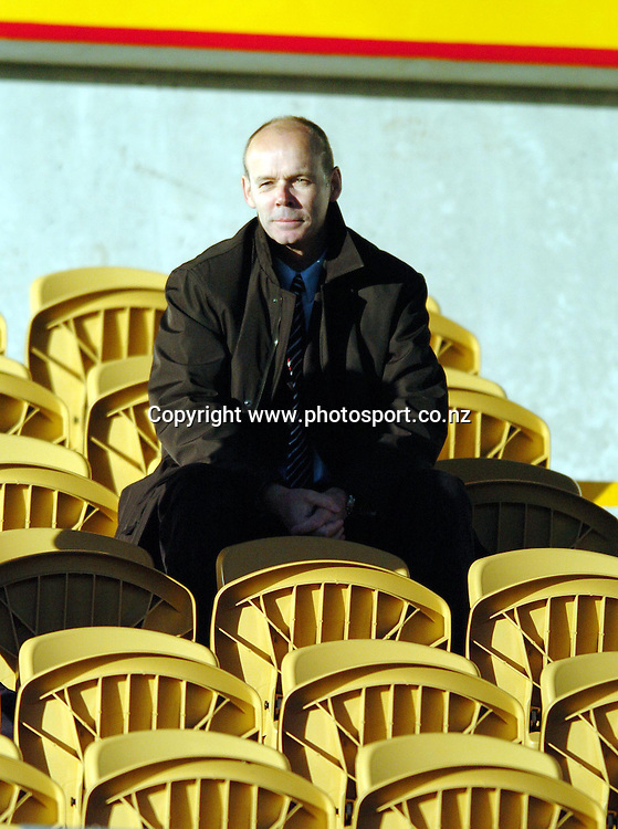 CAPTION: LIONS HEAD COACH CLIVE WOODWARD LOOKS FORWARD TO THE GAME AGAINST TARANAKI TOMORROW NIGHT<br />