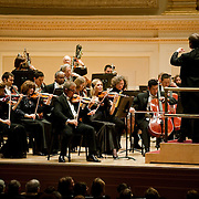 March 5, 2011 - Manhattan, NY : David Robertson and the St. Louis Symphony perform Pyotr Ilych Tchaikovsky's 'Symphony No. 6 in B Minor, Op. 74, 'Pathetique'' (1893) in the Isaac Stern Auditorium / Ronald O. Perelman Stage at Carnegie Hall on Saturday evening.  ////////// EDITOR: Virginia Avent. FOR DESK: CUL. PHOTO CREDIT: Karsten Moran for The New York Times