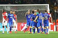 Joie Juventus Turin - 22.04.2015 - Monaco / Juventus Turin - 1/4Finale retour Champions League<br /> Photo : Serge Haouzi / Icon Sport