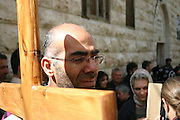 The Friday Procession Via Dolorosa, Jerusalem, Israel