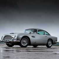 AUTOCAR FEATURE.Aston Martin Vantage 100 Special Edition shot with:.Aston Martin Ulster, Bond DB5 and DB2 A..Bruntingthorpe proving ground Leics..28th May 2013.Images©Malcolm Griffiths.Digital ImagesF80P8396.jpg.Contact:07768 230706.www.malcolm.uk.net.malcy1970@me.com