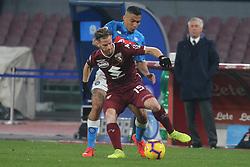 February 17, 2019 - Napoli, Italy, Italy - Italian Serie A football match SSC Napoli - Torino FC at the San Paolo stadium. (Credit Image: © Antonio Balasco/Pacific Press via ZUMA Wire)