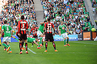 BUT DE Loic PERRIN - 10.05.2015 -  Saint Etienne / Nice  - 36eme journee de Ligue 1<br />