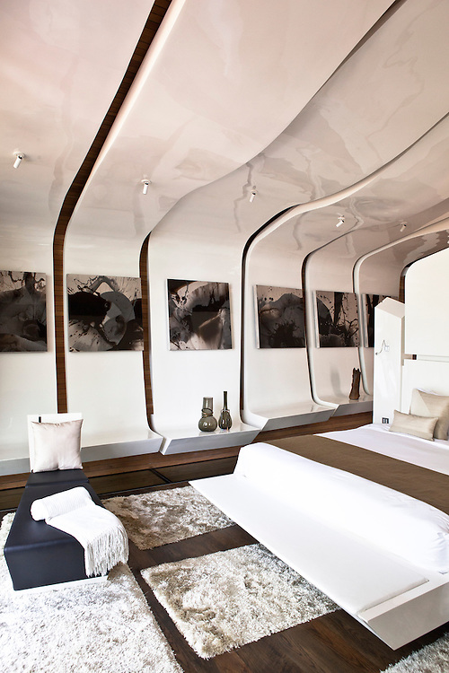 Iniala Luxury Residence,The Beachfront Seashell Suite by A-cero, Spain.
