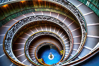 &ldquo;The Vatican Museums double helix spiral staircase II&rdquo;&hellip;<br />