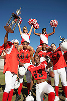 Winning Football Players with Cheerleaders