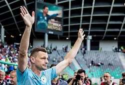 Milivoje Novakovic of Slovenia before he played his last match in his professional career prior to the football match between National teams of Slovenia and Malta in Round #6 of FIFA World Cup Russia 2018 qualifications in Group F, on June 10, 2017 in SRC Stozice, Ljubljana, Slovenia. Photo by Vid Ponikvar / Sportida
