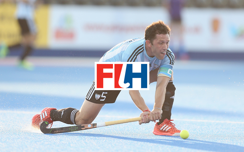 LONDON, ENGLAND - JUNE 16:  Pedro Ibarra of Argentina during the Hero Hockey World League semi final match between Argentina and Malaysia at Lee Valley Hockey and Tennis Centre on June 16, 2017 in London, England.  (Photo by Alex Morton/Getty Images)