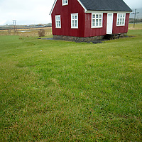 Typical coutryy Icelandic house