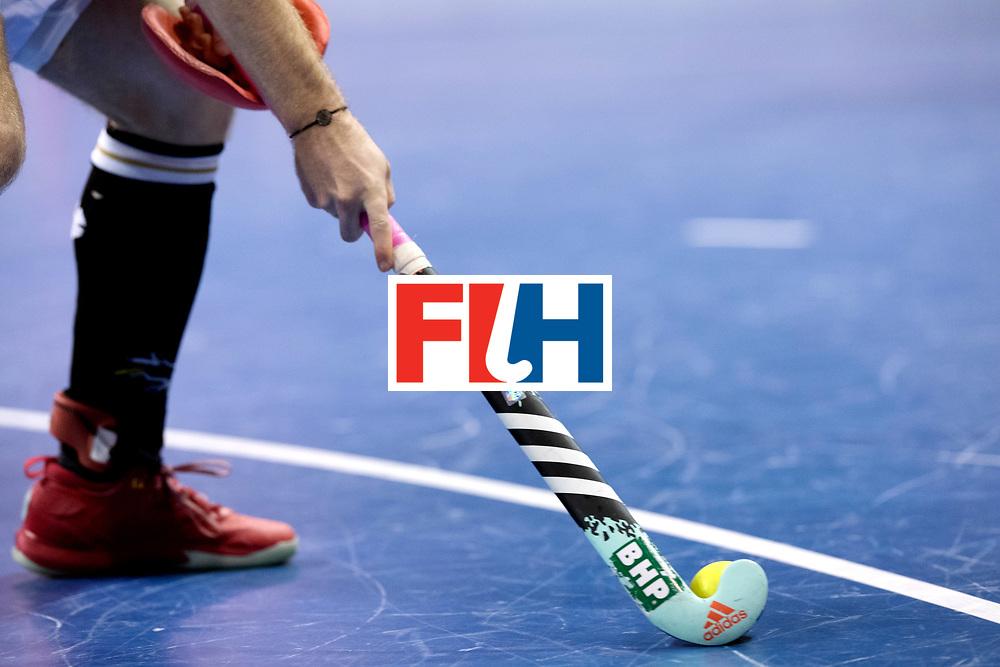 BERLIN - Indoor Hockey World Cup<br /> Men: Poland - Germany<br /> foto: <br /> WORLDSPORTPICS COPYRIGHT FRANK UIJLENBROEK