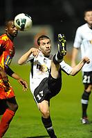 FOOTBALL - FRENCH CHAMPIONSHIP 2010/2011 - L2 - SCO ANGERS v LEMANS FC - 19/10/2010 - PHOTO PASCAL ALLEE / DPPI - KARIM DJELLABI (SCO)