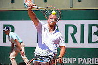 Nicolas PEIFER - 04.06.2015 - Jour 12 - Roland Garros 2015 <br />Photo : Nolwen Le Gouic / Icon Sport