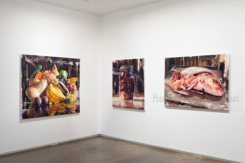 "Artist Stephen Allwood. ""Edible"" - new paintings."