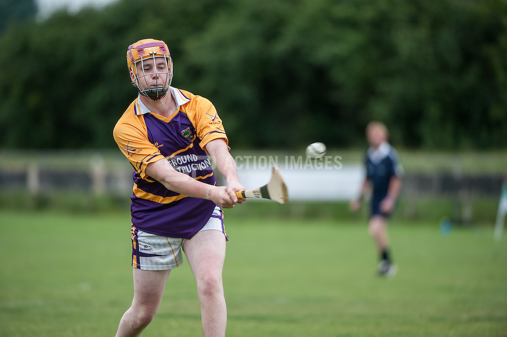 Robert Emmetts v Fr Murphys - Ardent Tide Hurling Champs, Ruislip, London, UK on 29 June 2014. Photo: Simon Parker