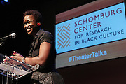 May 7, 2012- New York, NY United States: - Alicia Young, Asst. Director, Schomburg Center attends the Theater Talks at the Schomburg: A Streetcar Named Desire held at the Schomburg Center for Research in Black Culture, part of the New York Public Library on May 7, 2012 in Harlem Village, New York City. The Schomburg Center for Research in Black Culture, a research unit of The New York Public Library, is generally recognized as one of the leading institutions of its kind in the world. For over 80 years the Center has collected, preserved, and provided access to materials documenting black life, and promoted the study and interpretation of the history and culture of peoples of African descent.  (Photo by Terrence Jennings) .