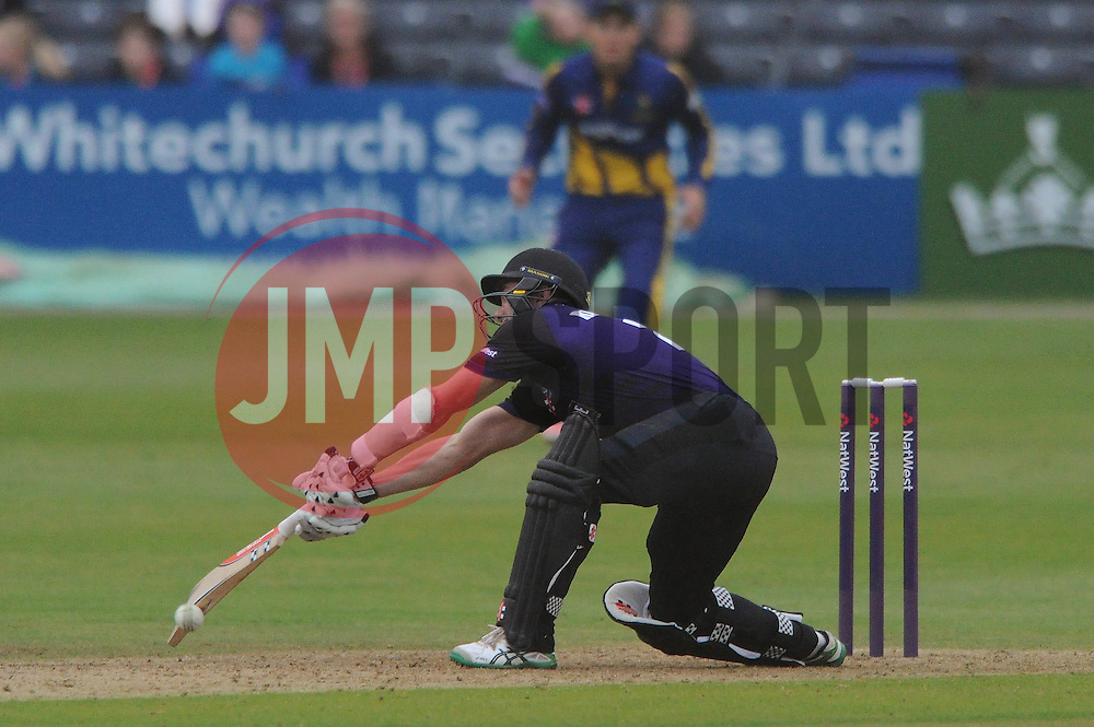 Michael Klinger of Gloucestershire bats - Photo mandatory by-line: Dougie Allward/JMP - Mobile: 07966 386802 - 12/06/2015 - SPORT - Cricket - Bristol - County Ground - Gloucestershire v Glamorgan - Natwest T20 Blast