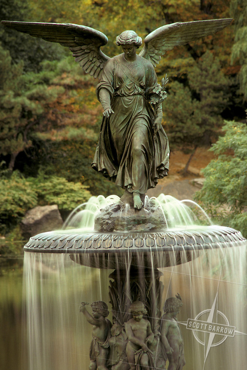 Angel of the Waters, Bethesda Fountain, CP