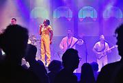 Nederland, Nijmegen, 8-12-2018Poppodium Doornroosje bestaat 50 jaar en viert dat met een mini festival in drie zalen. Optreden van de band Tshegue.Foto: Flip Franssen