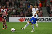 Football - 2016 / 2017 Europa League - Group K: Southampton vs. Sparta Prague<br /> <br /> Michal Sacek of Sparta Praha in action during the Europa League game between Southampton and Sparta Prague at St Mary's Stadium Southampton <br /> <br /> Colorsport/Shaun Boggust