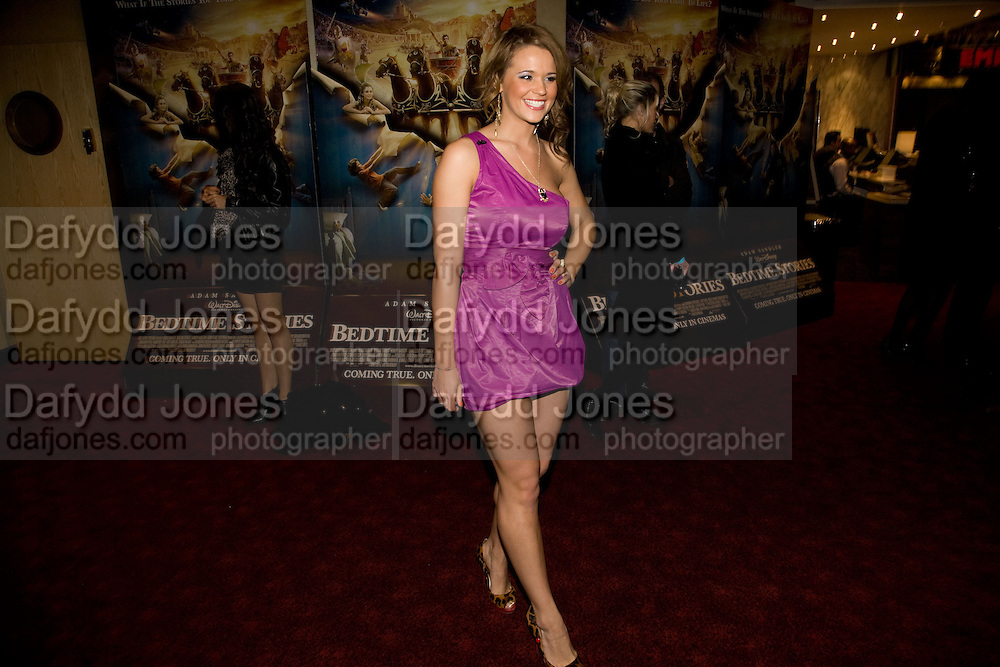 Naomi Millbank Smith, Premiere of 'Clubbed', at the Empire Cinema. Leicester Sq. London. 7 January 2009 *** Local Caption *** -DO NOT ARCHIVE-© Copyright Photograph by Dafydd Jones. 248 Clapham Rd. London SW9 0PZ. Tel 0207 820 0771. www.dafjones.com.<br /> Naomi Millbank Smith, Premiere of 'Clubbed', at the Empire Cinema. Leicester Sq. London. 7 January 2009