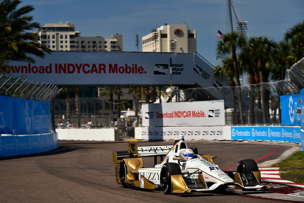 11-13 March, 2016, St Petersburg, Florida USA<br /> 21 Josef Newgarden<br /> &copy;2016 Scott R LePage <br /> LAT Photo USA