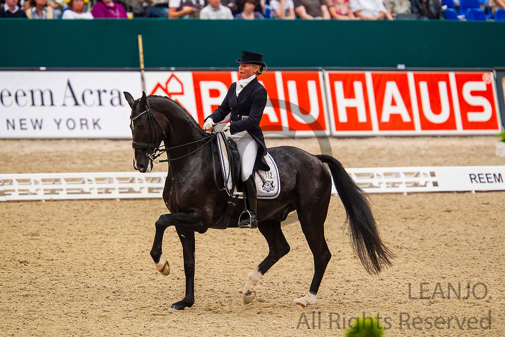 Mikaela Lindh - Skovlunds Mas Guapo<br /> Reem Acra FEI World Cup Final Dressage 2011<br /> © DigiShots