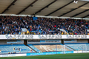 Reading fans during the EFL Sky Bet Championship match between Millwall and Reading at The Den, London, England on 18 January 2020.