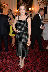 CARA THEOBOLD at the Audi Ballet Evening at The Royal Opera House, Covent Garden, London on 23rd April 2015.