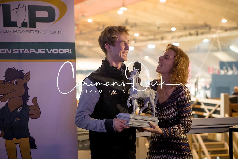Thomas Gilles, BEL<br /> VLP Talent van het jaar<br /> Vlaanderens Kerstjumping Memorial Eric Wauters - Juming Mechelen 2016<br /> &copy; Dirk Caremans<br /> 26/12/2016er
