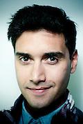 Ignacio Franzani, periodista y conductor de television. Santiago de Chile. 11-04-2013 (©Alvaro de la Fuente/Triple.cl)