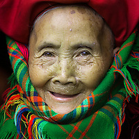 Grandma from the Red Dzao Tribe, Sapa, Vietnam