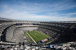 Oct 16, 2011; East Rutherford, NJ, USA; General view of MetLife Stadium before the game between the New York Giants and the Buffalo Bills. Mandatory Credit: Jason O. Watson-US PRESSWIRE