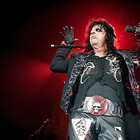 Alice Cooper plays live at the SECC.