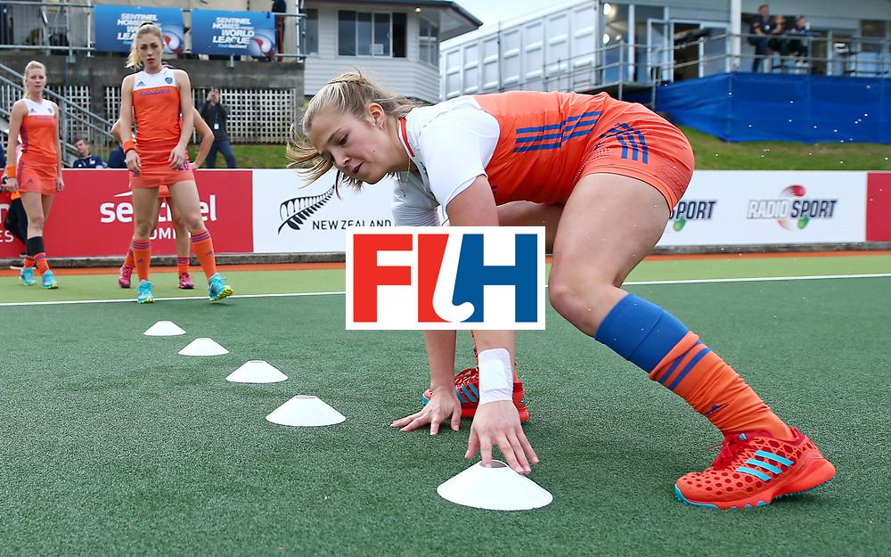 New Zealand, Auckland - 20/11/17  <br /> Sentinel Homes Women&rsquo;s Hockey World League Final<br /> Harbour Hockey Stadium<br /> Copyrigth: Worldsportpics, Rodrigo Jaramillo<br /> Match ID: 10299 - NED vs KOR<br /> Photo: