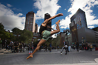 Union Square Dancer Andre Street Dance As art The New York Photography Project