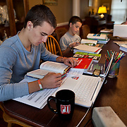 Patrick Foss, who is homeschooled, does his schoolwork along with some of his eight siblings at their home in Virginia. Foss, an accomplished soccer player does not play on his local high school's soccer team...Named for home-schooled Broncos quarterback Tim Tebow who played sports at his local high school, a new bill could give home-schooled students the chance to play on local school teams.