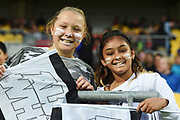 Fans before the New Zealand All Whites v Fiji, FIFA Football World Cup Qualification, OFC Final Group Stage. Westpac Stadium, Wellington, New Zealand. 28 March 2017. Copyright Image: Mark Tantrum / www.photosport.nz