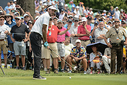 August 9, 2018 - Town And Country, Missouri, U.S - BUBBA WATSON from Bagdad Florida, USA lines up his tee shot on hole 6 during round one of the 100th PGA Championship on Thursday, August 8, 2018, held at Bellerive Country Club in Town and Country, MO (Photo credit Richard Ulreich / ZUMA Press) (Credit Image: © Richard Ulreich via ZUMA Wire)