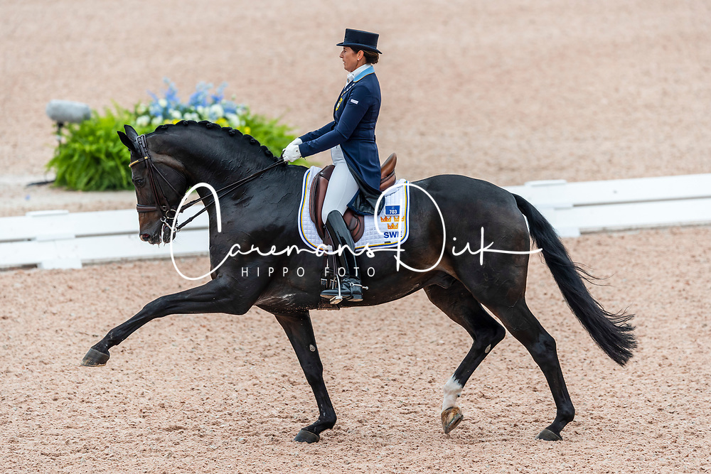 Vilhelmson Silfven Tinne, SWE, Don Auriello<br /> World Equestrian Games - Tryon 2018<br /> © Hippo Foto - Dirk Caremans<br /> 12/09/18