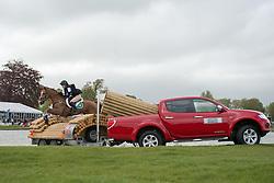 Abbott Clare (IRL) - Euro Prince<br /> Cross Country - CCI4* <br /> Mitsubishi Motors Badminton Horse Trials 2014 <br /> © Hippo Foto - Jon Stroud