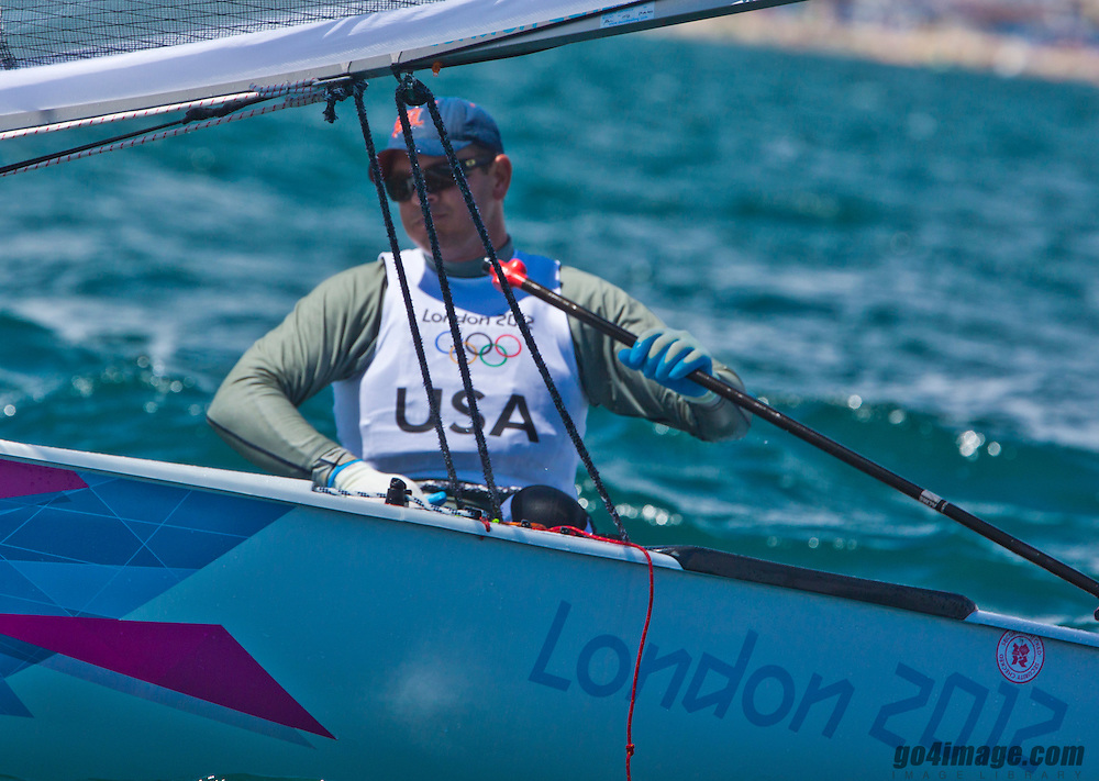 Finn USARailey Zach<br /> 2012 Olympic Games <br /> London / Weymouth