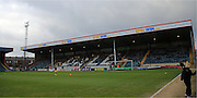 Spin and Win Stand Spotland during the Sky Bet League 1 match between Rochdale and Millwall at Spotland, Rochdale, England on 13 February 2016. Photo by Daniel Youngs.