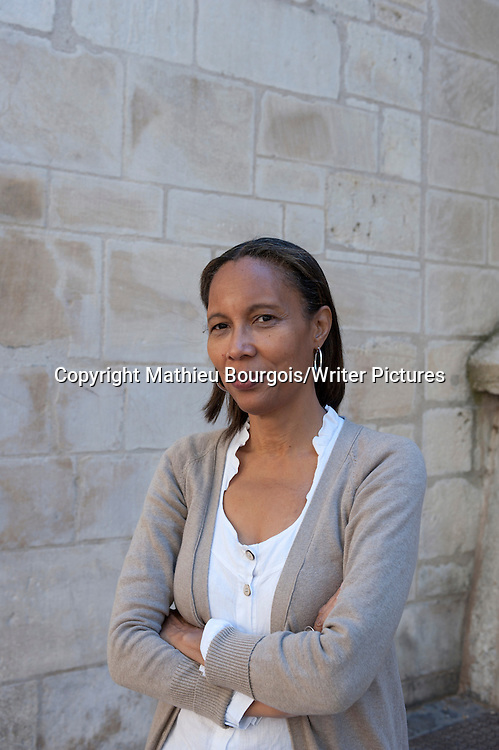 Yanick Lahens, Haitian essayist, novelist and teacher, in Lyon, France, May 20, 2011.<br /> NO FRANCE SALES