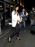 09.JULY.2011. LONDON<br /> <br /> FOOTBALLER FRANK LAMPARD AND CHRISTINE BLEAKLEY LEAVING THE IVY RESTAURANT IN LONDON<br /> <br /> BYLINE: EDBIMAGEARCHIVE.COM<br /> <br /> *THIS IMAGE IS STRICTLY FOR UK NEWSPAPERS AND MAGAZINES ONLY*<br /> *FOR WORLD WIDE SALES AND WEB USE PLEASE CONTACT EDBIMAGEARCHIVE - 0208 954 5968*