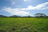 Looking north towards the mountains between Higuey and El Seibo in The Dominican Republic.