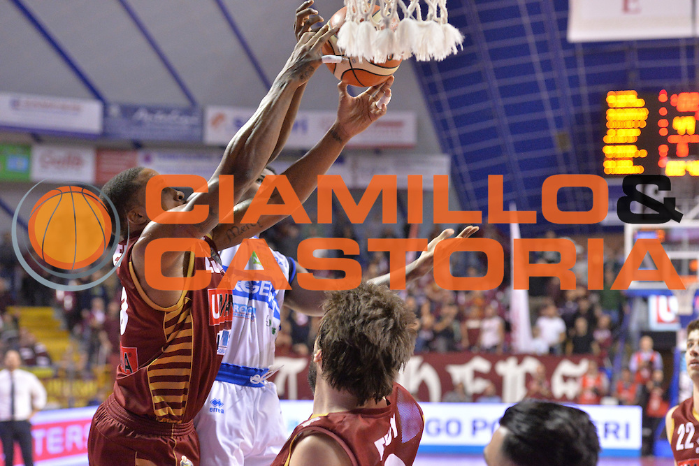 Tyrus McGee<br /> Umana Reyer Venezia - Germani Basket Brescia<br /> Lega Basket Serie A 2016/2017<br /> Venezia 18/12/2016<br /> Foto Ciamillo-Castoria