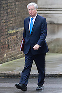 Downing Street, London, February 11th 2016. Defence Secretary Michael Fallon attends the weekly cabinet meeting. <br /> Picture by Paul Davey/Focus Images Ltd +447966 016296<br /> 01/03/2016